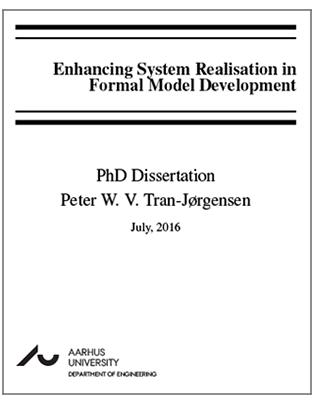 Forsidebillede til Enhancing System Realisation in Formal Model Development