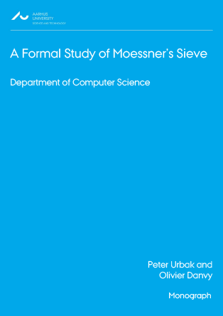 Cover for A Formal Study of Moessner's Sieve