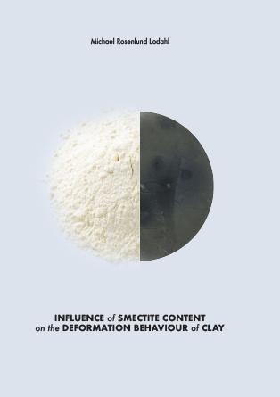 Forsidebillede til Influence of smectite content on the deformation behaviour of clay