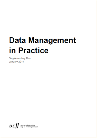 Cover for Data Management in Practice Supplementary Files
