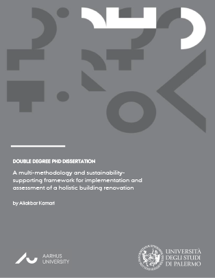 Cover for A multi-methodology and sustainability-supporting framework for implementation and assessment of a holistic building renovation: Implementation and assessment of a holistic sustainable building renovation