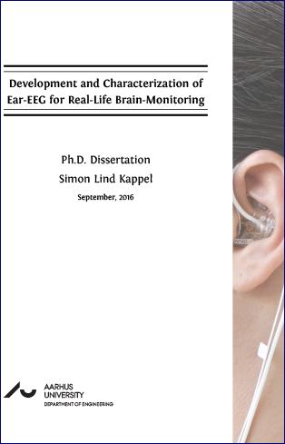 Forsidebillede til Development and Characterization of Ear-EEG for Real-Life Brain-Monitoring