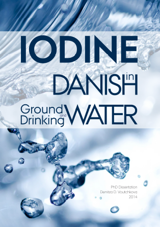 Forsidebillede til Iodine in Danish Groundwater and Drinking Water