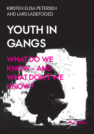 Cover for Youth in Gangs. What Do We Know – and What Don't We Know? A Research Review of National and International Knowledge about Youth in Gangs