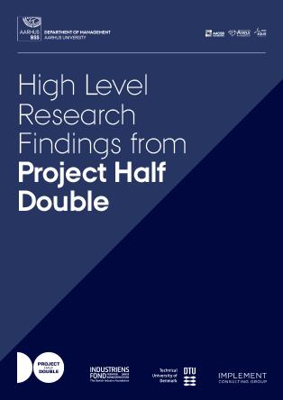 Forsidebillede til Project Half Double: High Level Research Findings