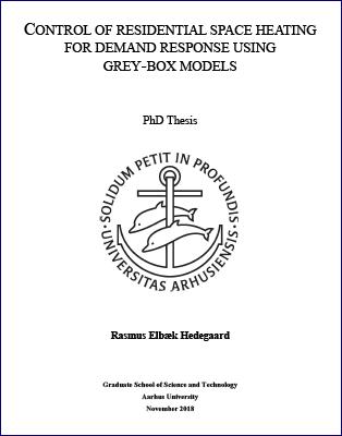 Forsidebillede til Control of Residential Space Heating for Demand Response Using Grey-box Models