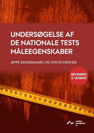 Cover for Undersøgelse af De Nationale Tests måleegenskaber