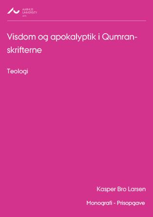 Cover for Visdom og apokalyptik i Qumran-skrifterne