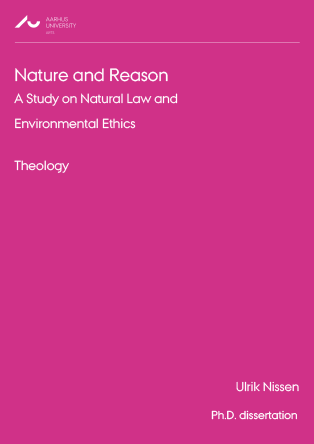 Cover for Nature and Reason: A Study on Natural Law and Environmental Ethics