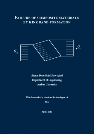 Forsidebillede til Failure of Composite Materials by Kink Band Formation