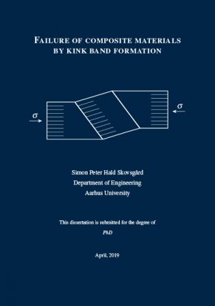 Forsidebillede til Failure of Composite Materials by Kink Band Formation