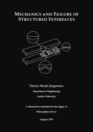 Forsidebillede til Mechanics and Failure of Structured Interfaces