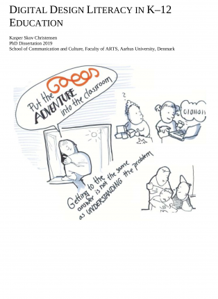 Forsidebillede til Digital Design Literacy in K-12 Education
