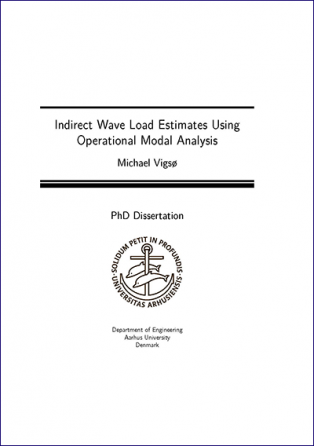 Forsidebillede til Indirect Wave Load Estimates Using Operational Modal Analysis