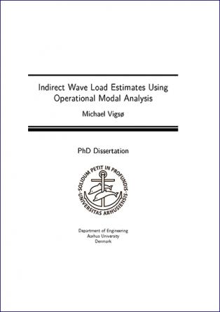 Forsidebillede til Indirect Wave Load Estimates Using Operational Modal Analysis