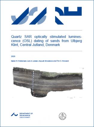 Forsidebillede til Quartz SAR optically stimulated lumines-cence (OSL) dating of sands from Ulbjerg Klint, Central Jutland, Denmark