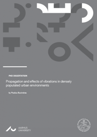 Forsidebillede til Propagation and Effects of Vibrations in Densely Populated Urban Environments