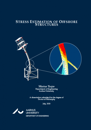 Forsidebillede til Stress Estimation of Offshore Structures