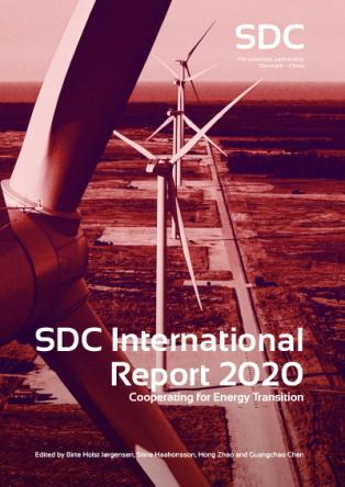 Forsidebillede til The SDC International Report 2020 : Cooperating for Energy Transition
