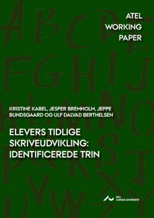 Forsidebillede til Elevers tidlige skriveudvikling: Identificerede trin