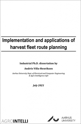 Implementation and applications of harvest fleet route planning