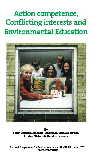 Cover for Action competence, Conflicting interests and Environmental education: The MUVIN Programme
